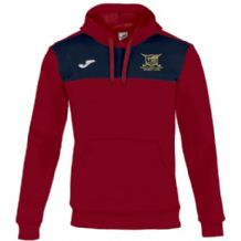 Ballyclare Hockey Club Winner Hoodie Red/Navy - Adults 2018